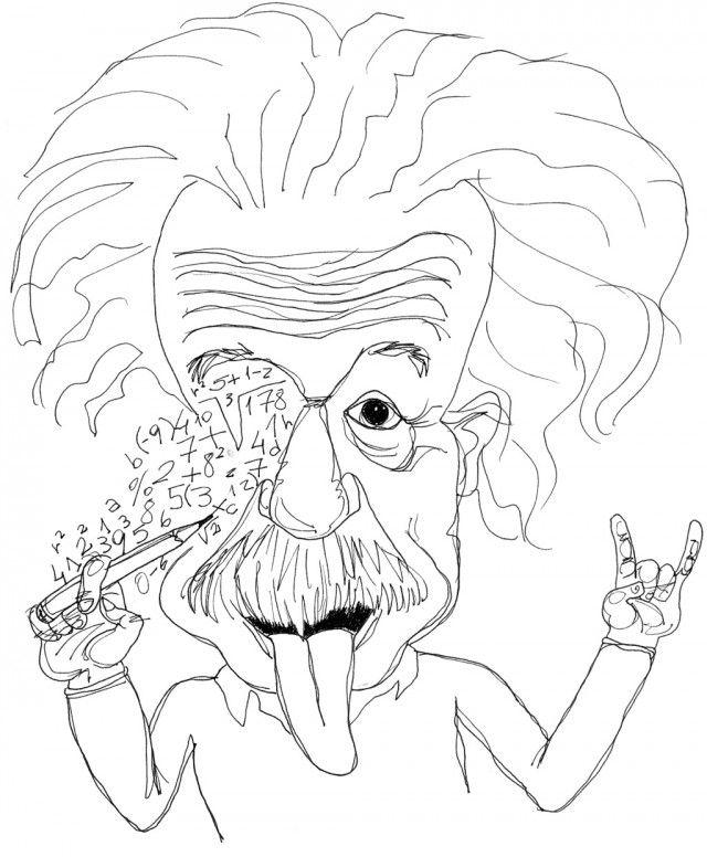Free Coloring Pages Of Albert Einstein Albert Coloring Pages