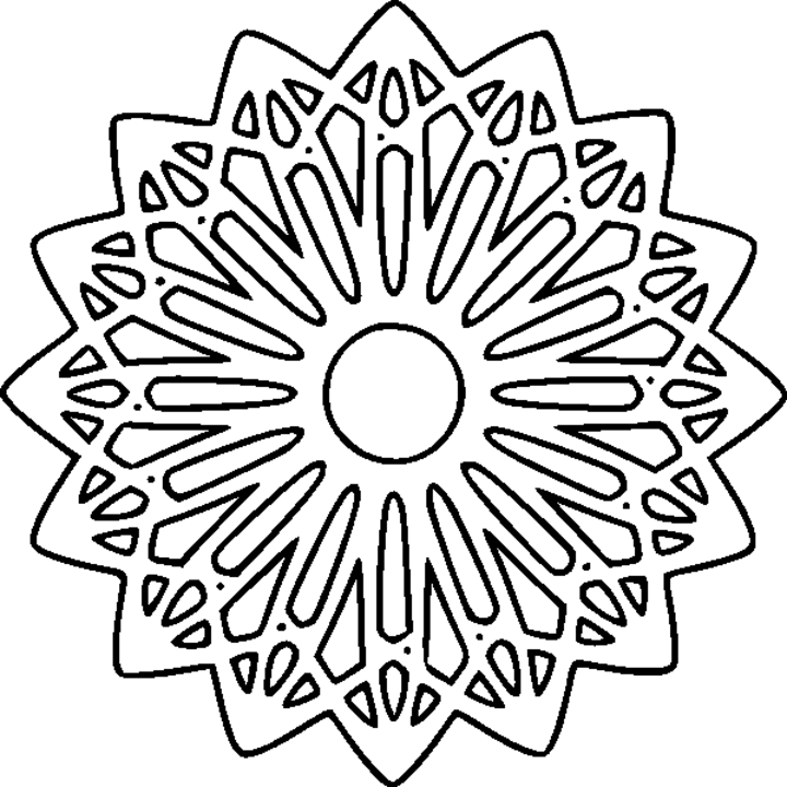 Abstract Coloring Pages | ColoringMates.