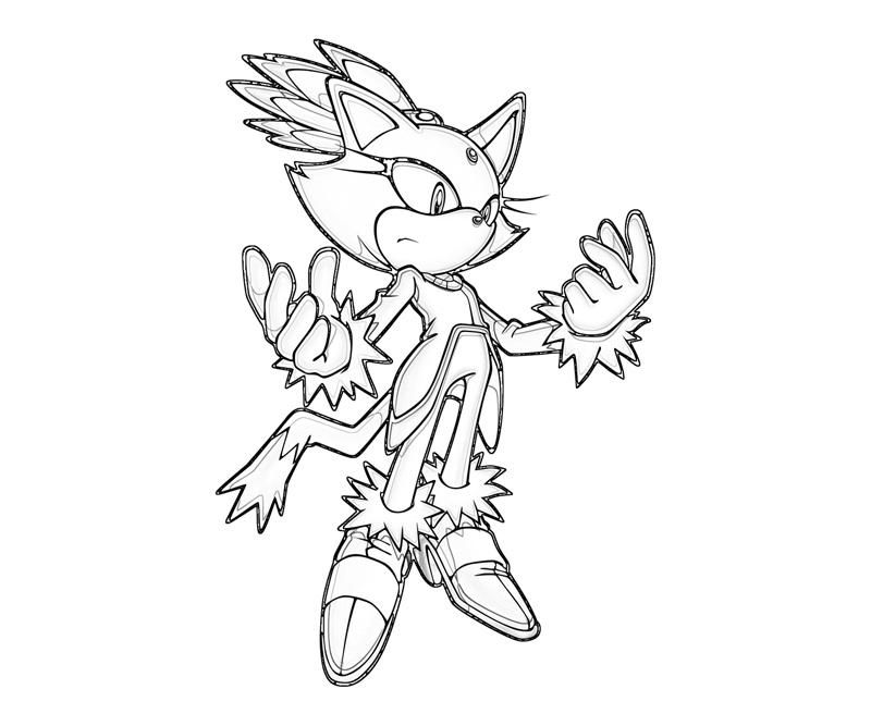 Sonic Riders Coloring Pages Coloring Home