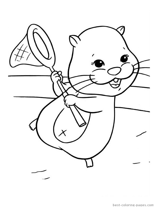 Zhu Zhu Pets Pages Coloring Pages