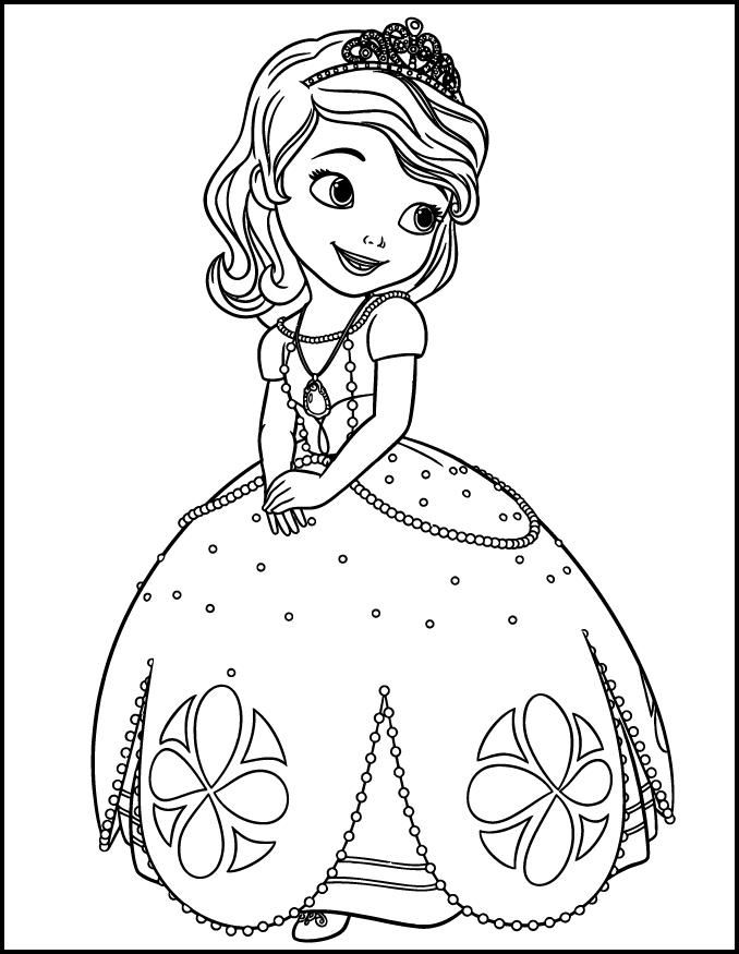 Princess sofia coloring pages coloring home for Sofia the princess coloring pages