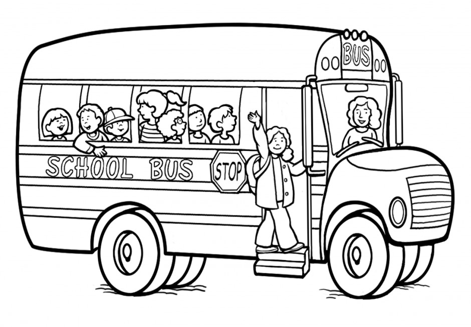 school safety coloring pages - photo#17