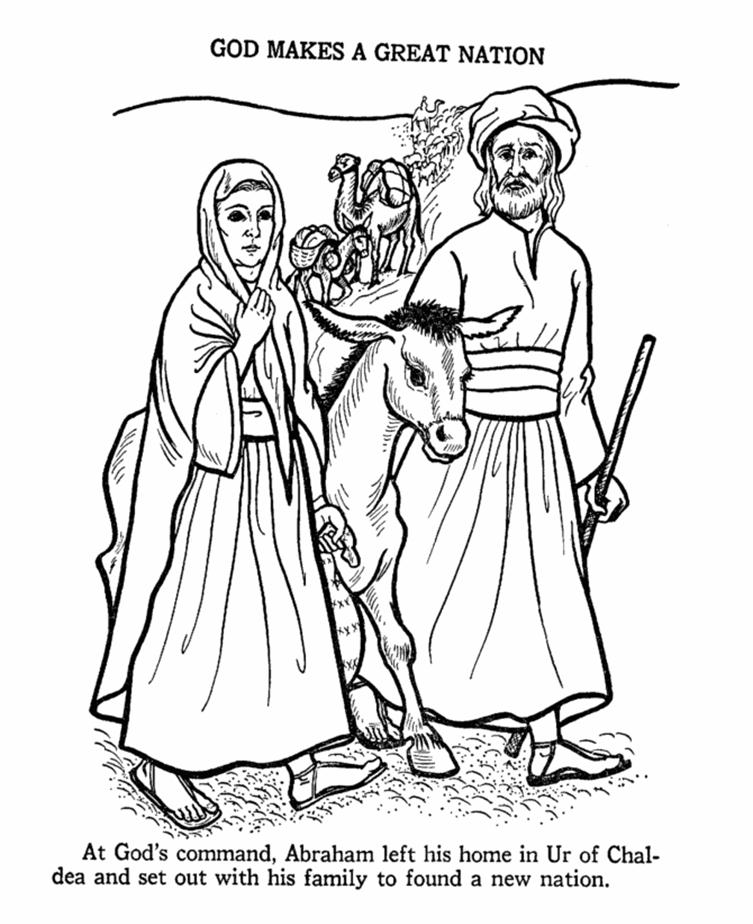 Bible People Coloring Pages - Free Printable Coloring Pages | Free