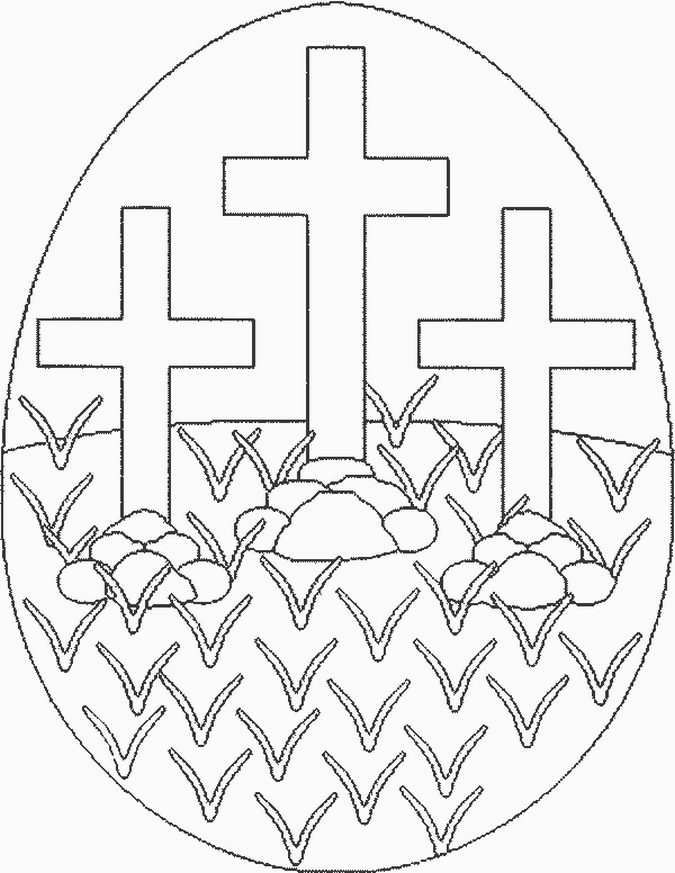 religious easter coloring pages - photo#34