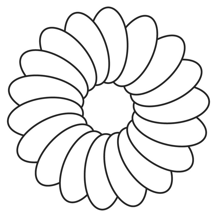 Flower Coloring Craft : Outlines Of Flowers AZ Coloring Pages