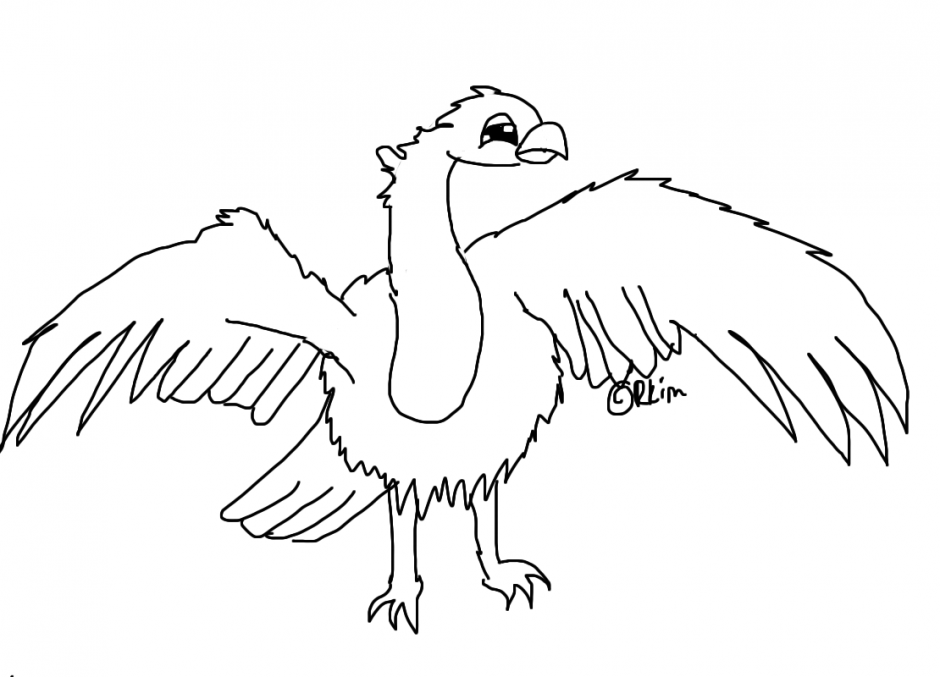 Vulture Pages Coloring Pages