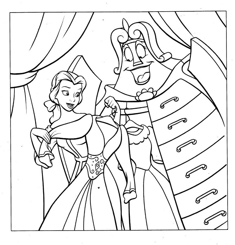 dress up coloring pages - photo#24