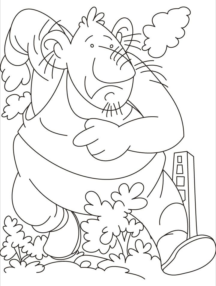 Trolls Coloring Pages Coloring