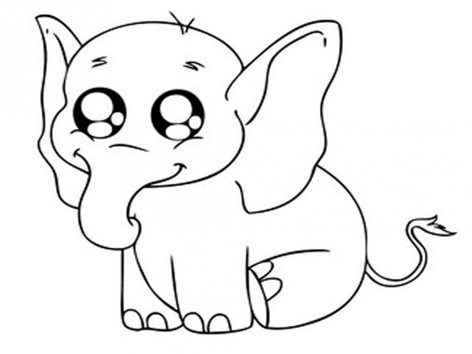 Cute Animal Colouring In Pages : Cute animal coloring pages for girls home