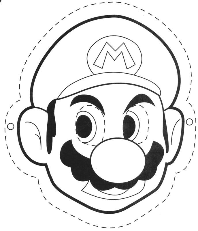 Mario Mask - 1015873 - Wii Photo Gallery | MMGN Australia