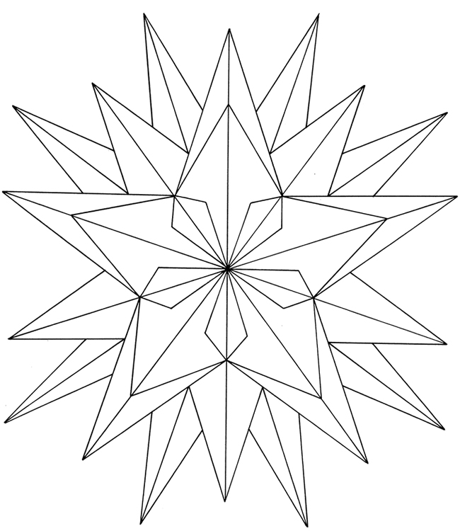 Geometric coloring pages for kids az coloring pages for Geometric coloring pages online