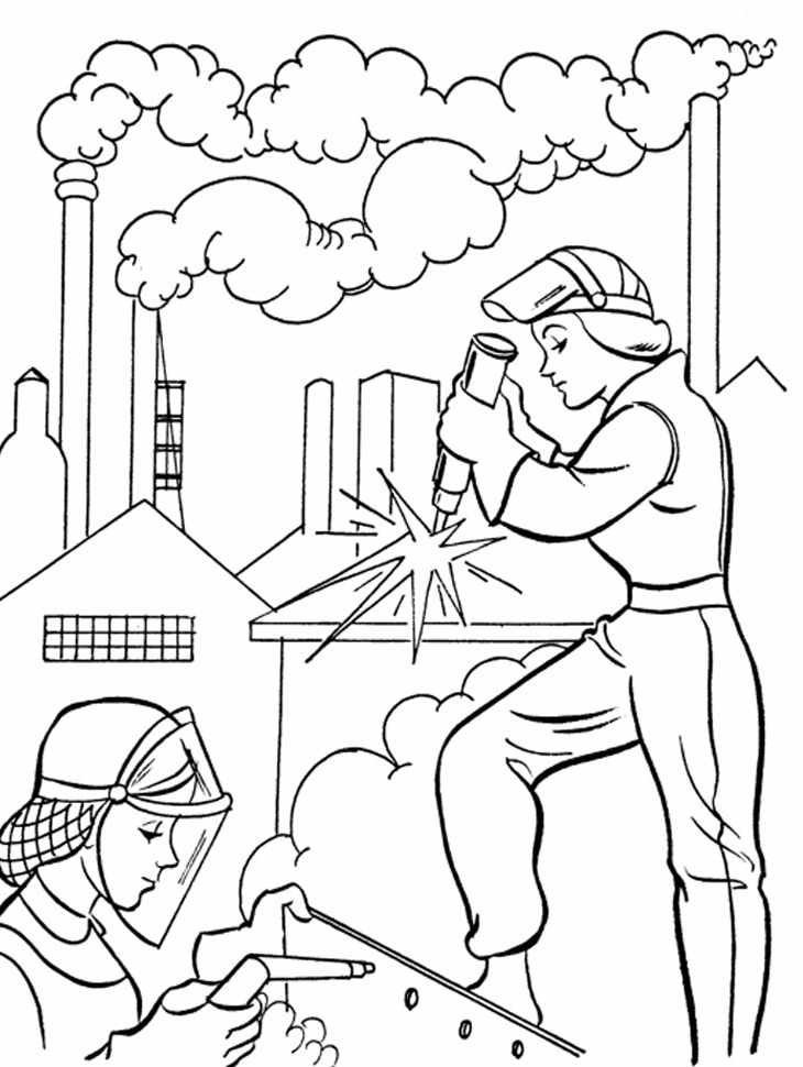 Labor Day Printable Coloring Pages AZ Coloring Pages