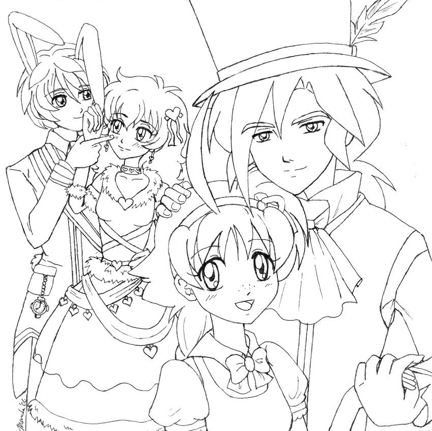 Printable Coloring Pages Of Princesses Coloring Home Anime Princess Coloring Pages