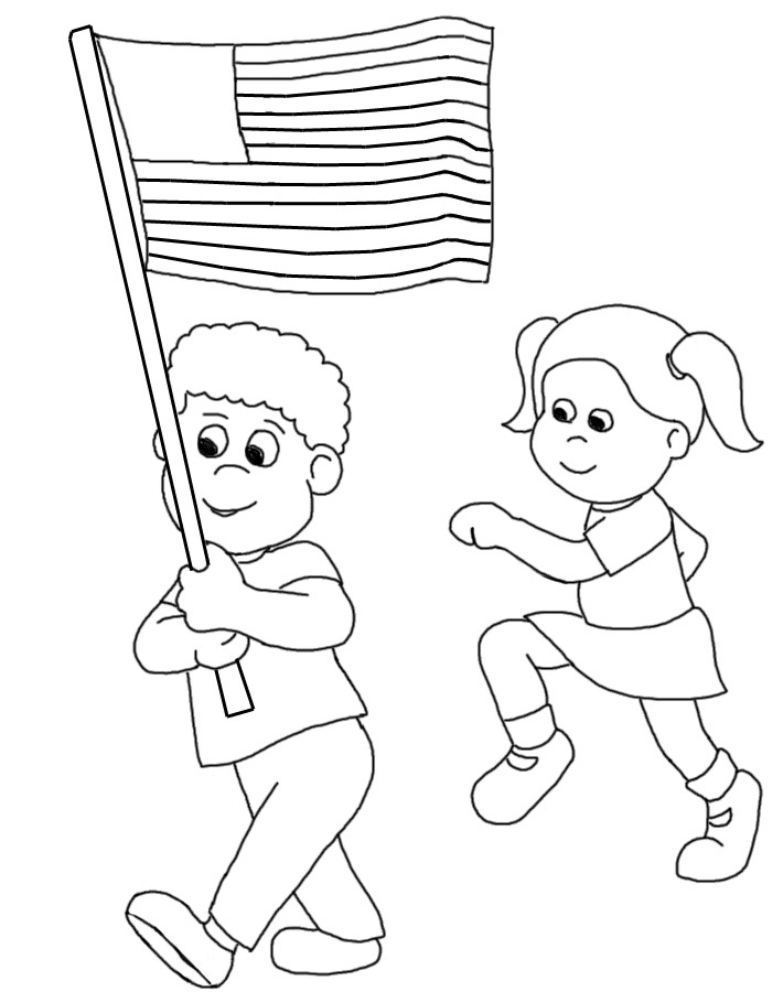 stars and stripes coloring pages - photo#7