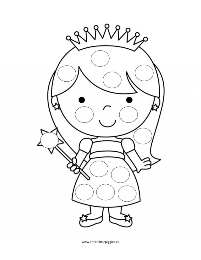 dot art coloring pages free - photo#2