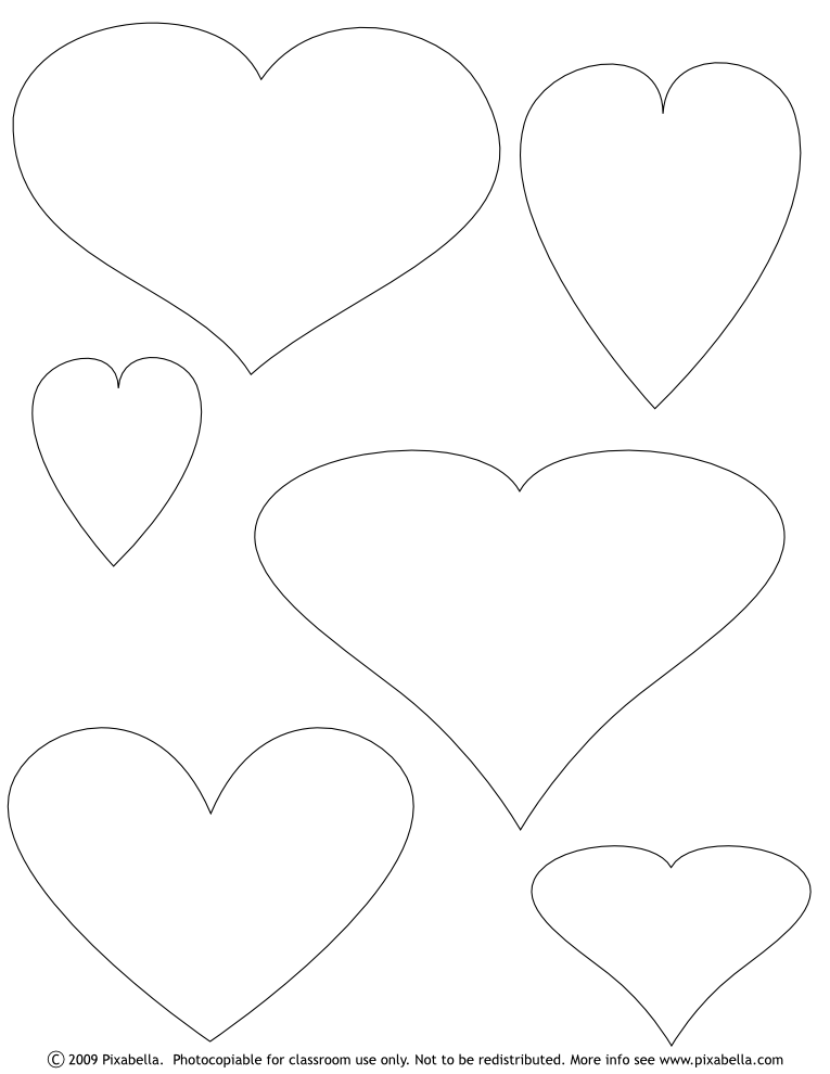 Large Flower Template