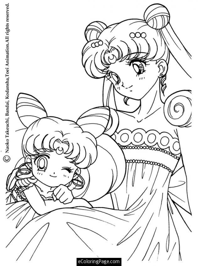 Anime Coloring Pages Online Coloring Home Sailor Moon Princess Coloring Pages Printable