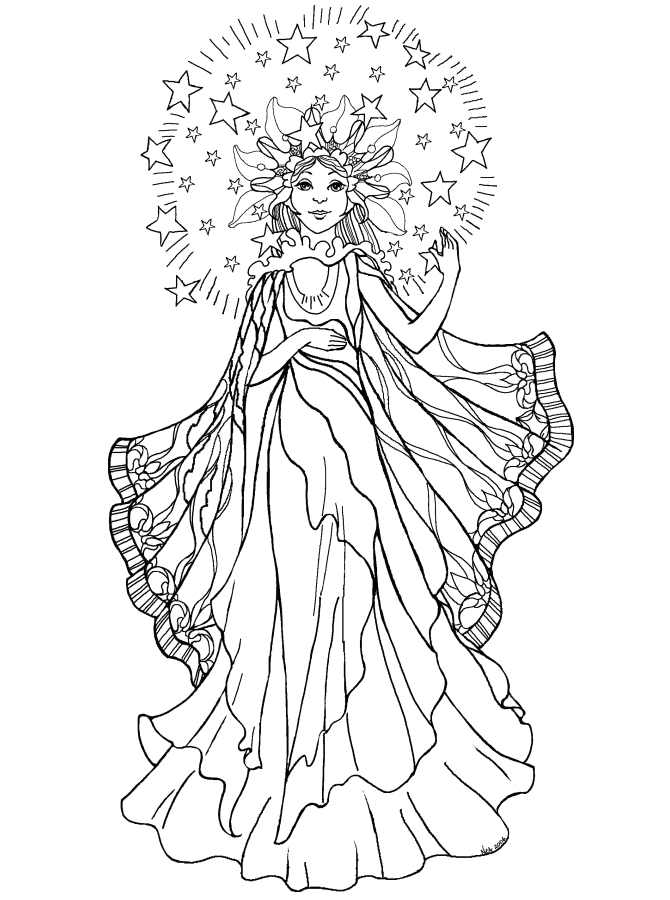 Christmas angels coloring pages coloring home for Angel coloring pages