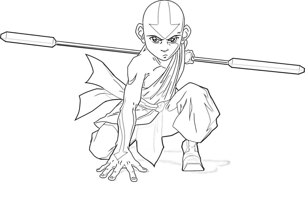 Pictures Of Avatar The Last Airbender Coloring Home