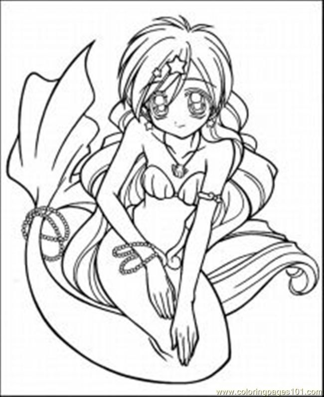 Anime Printable Coloring Pages Coloring Home