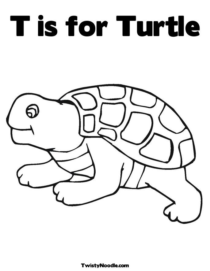 coloring pages turtle and hare - photo#15