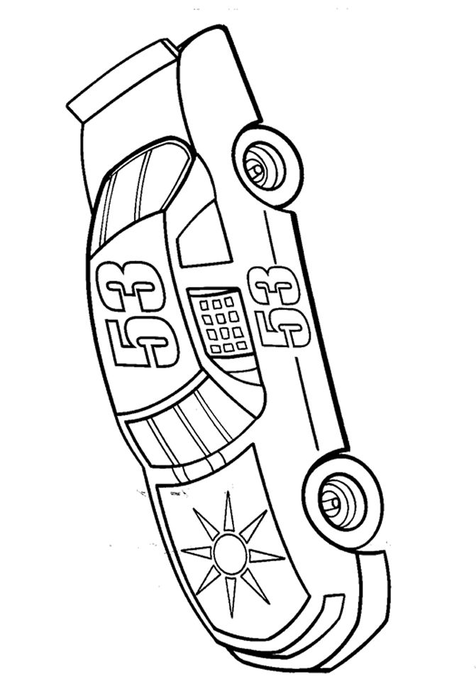 Nascar Coloring Pages For Kids - Coloring Home