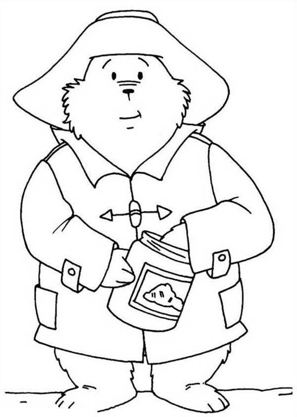 Paddington Bear Coloring Pages - Coloring Home