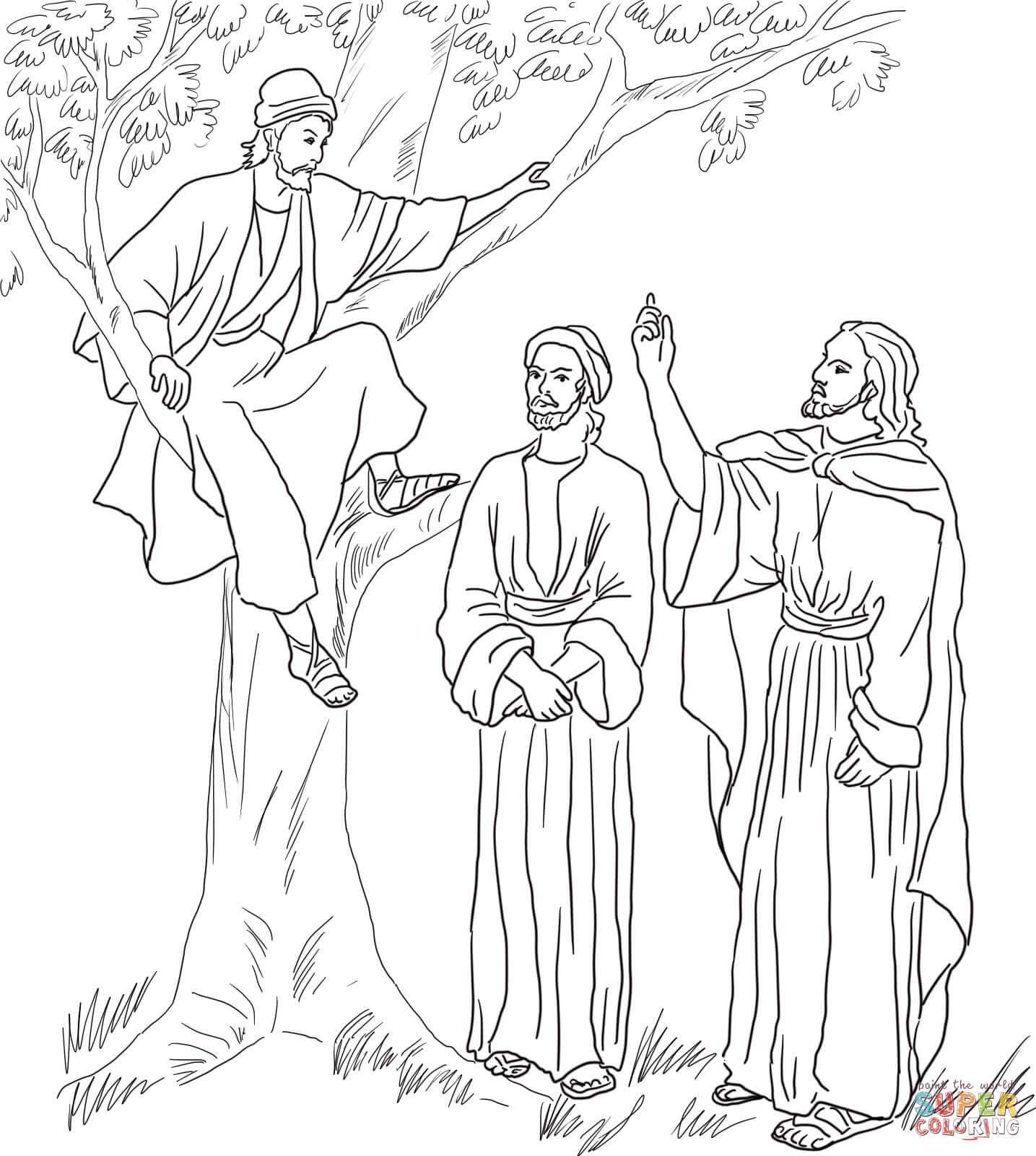 Free coloring pages jesus transfiguration