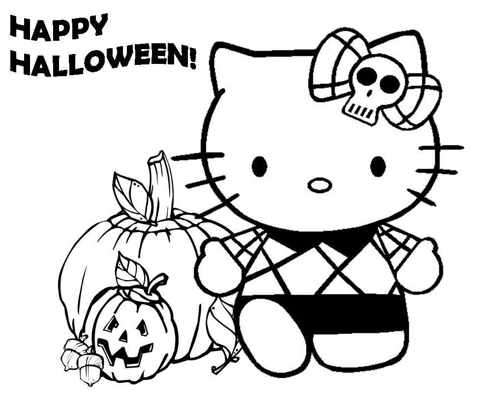Prek Coloring Pages Halloween - Coloring Home