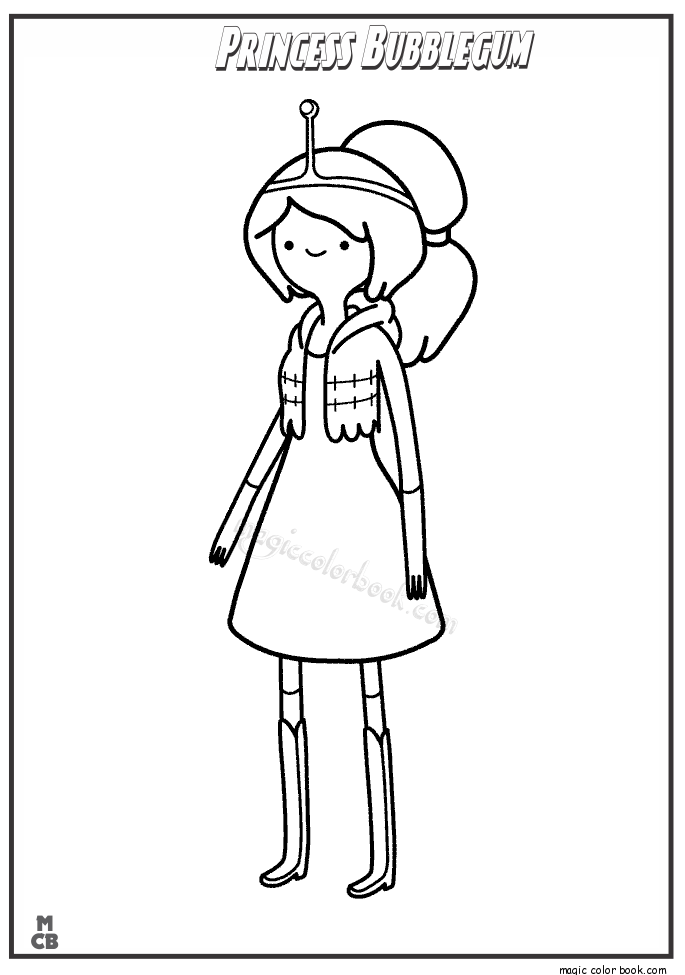 coloring pages of adventure time - photo#38
