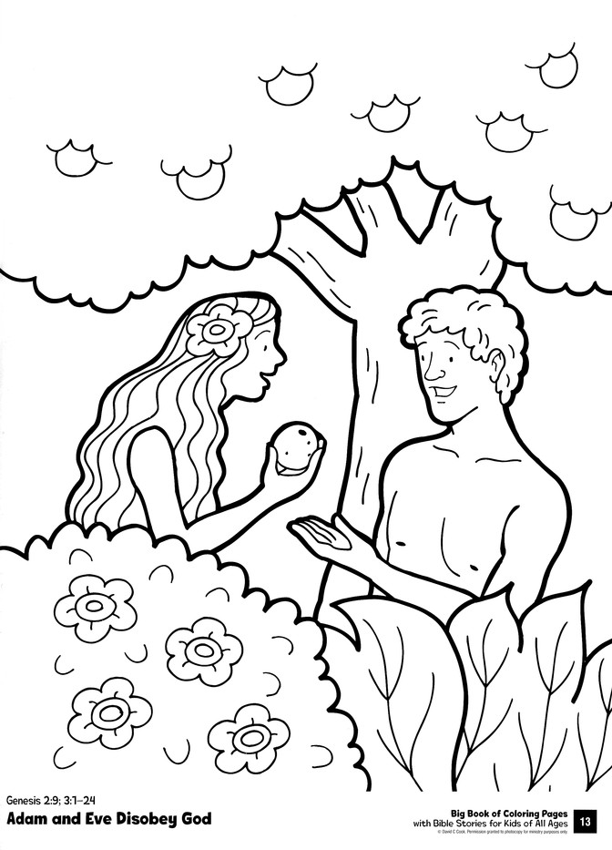 Big Book of Coloring Pages with Bible Stories for Kids of All Ages ...
