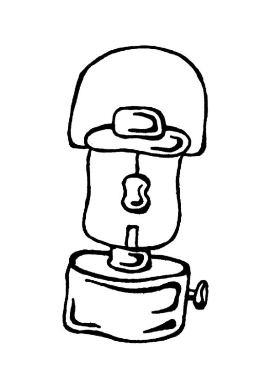 Lantern Coloring Page Coloring Home