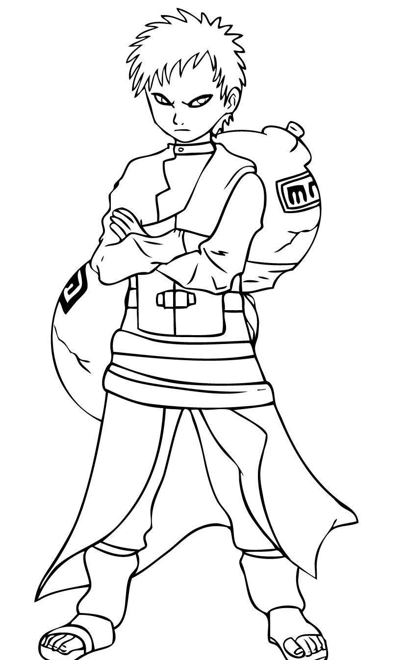 Coloring page naruto coloring home for Free naruto coloring pages