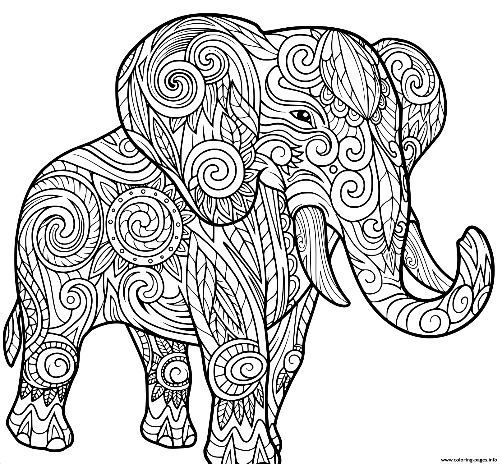 Free Animal Coloring Pages For Adults Sheet Unicorn Kids Sports To Print Approachingtheelephant Coloring Home