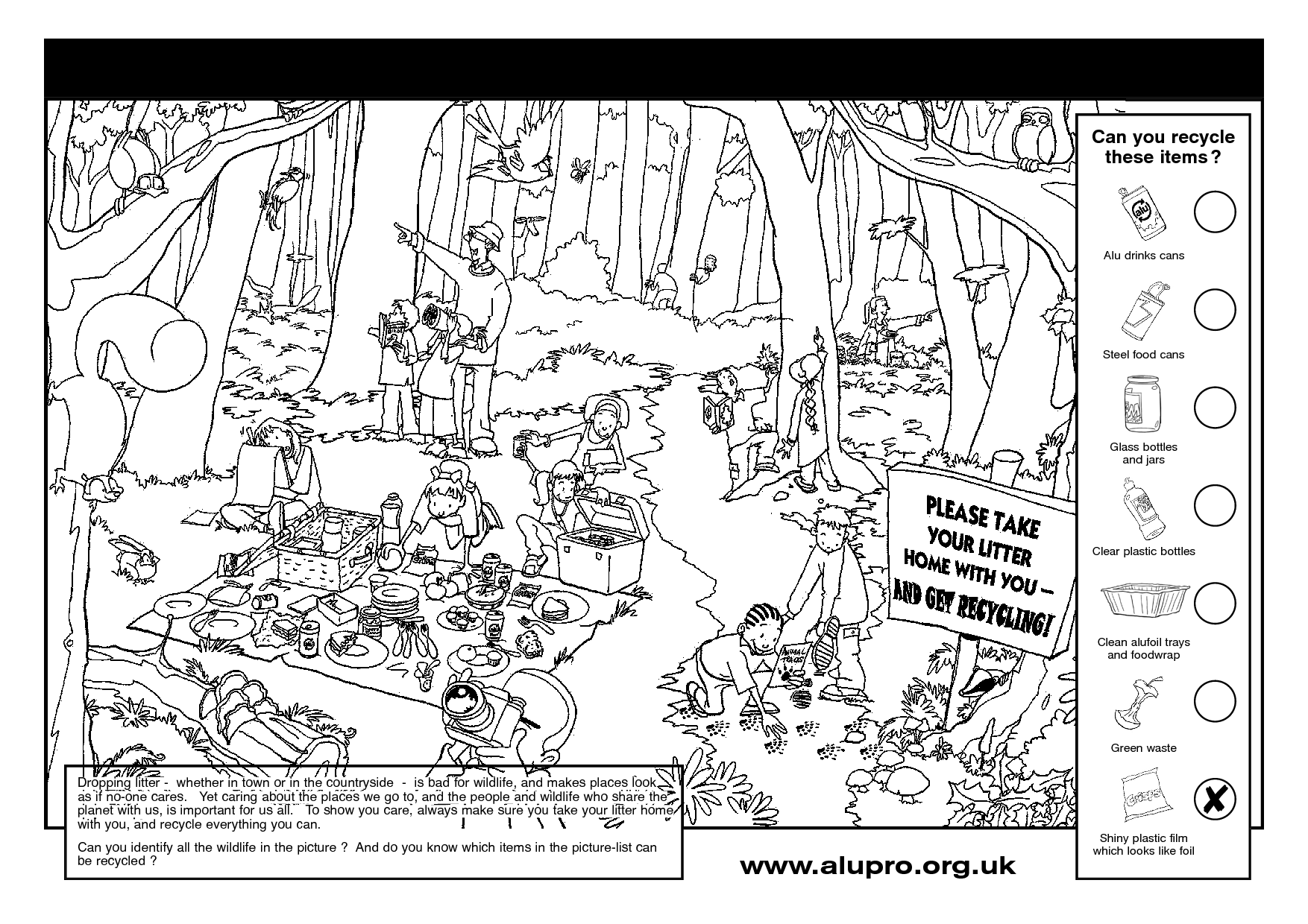 Recycling Coloring Pages Recycle Coloring Page Earth Day - birijus.com | 1240x1754