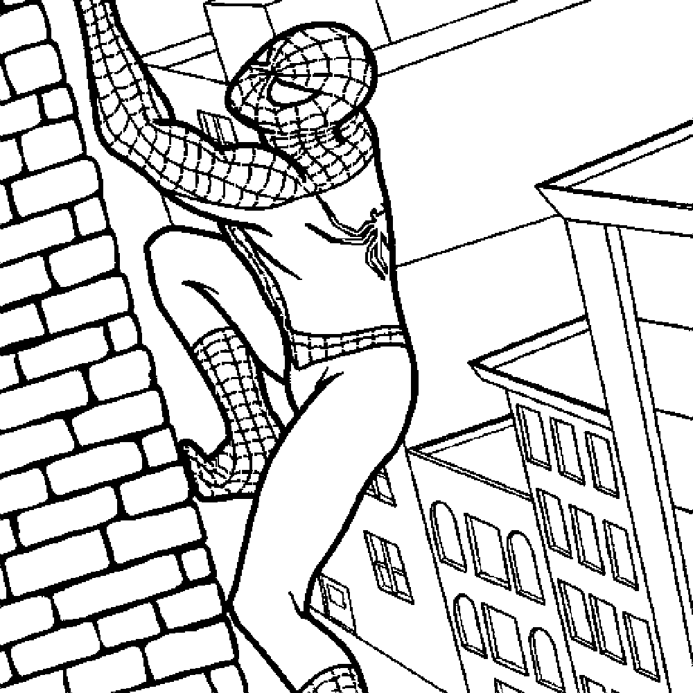 Coloring Pages Spiderman Free Printable Coloring Pages printable coloring pages spiderman az free pages