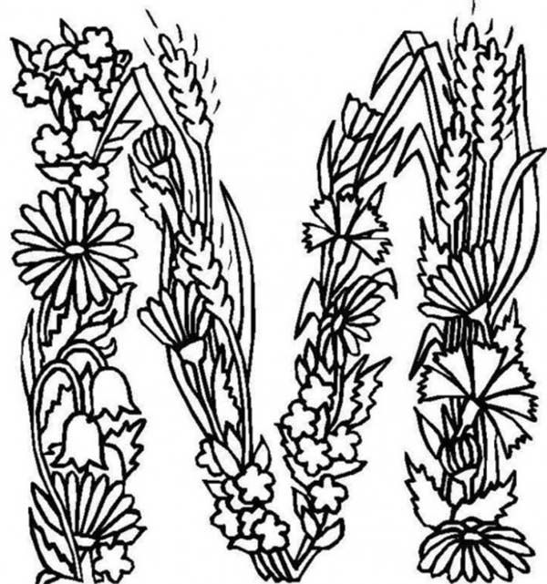 Letter M Coloring Pages Coloring Home