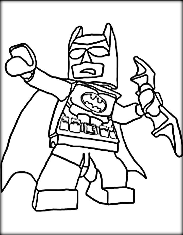 Emejing Lego Batman Coloring Book Contemporary New Printable