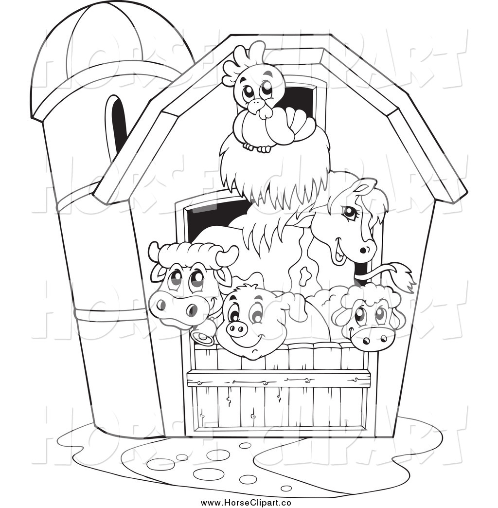 back at the barnyard coloring pages coloring home. Black Bedroom Furniture Sets. Home Design Ideas
