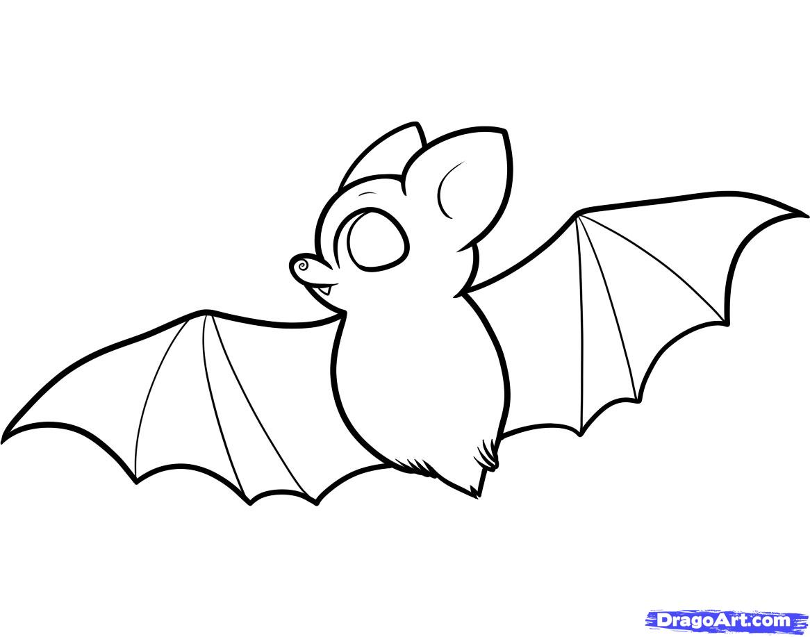 Uncategorized How To Draw A Bats how to draw a bat for kids step by animals kids