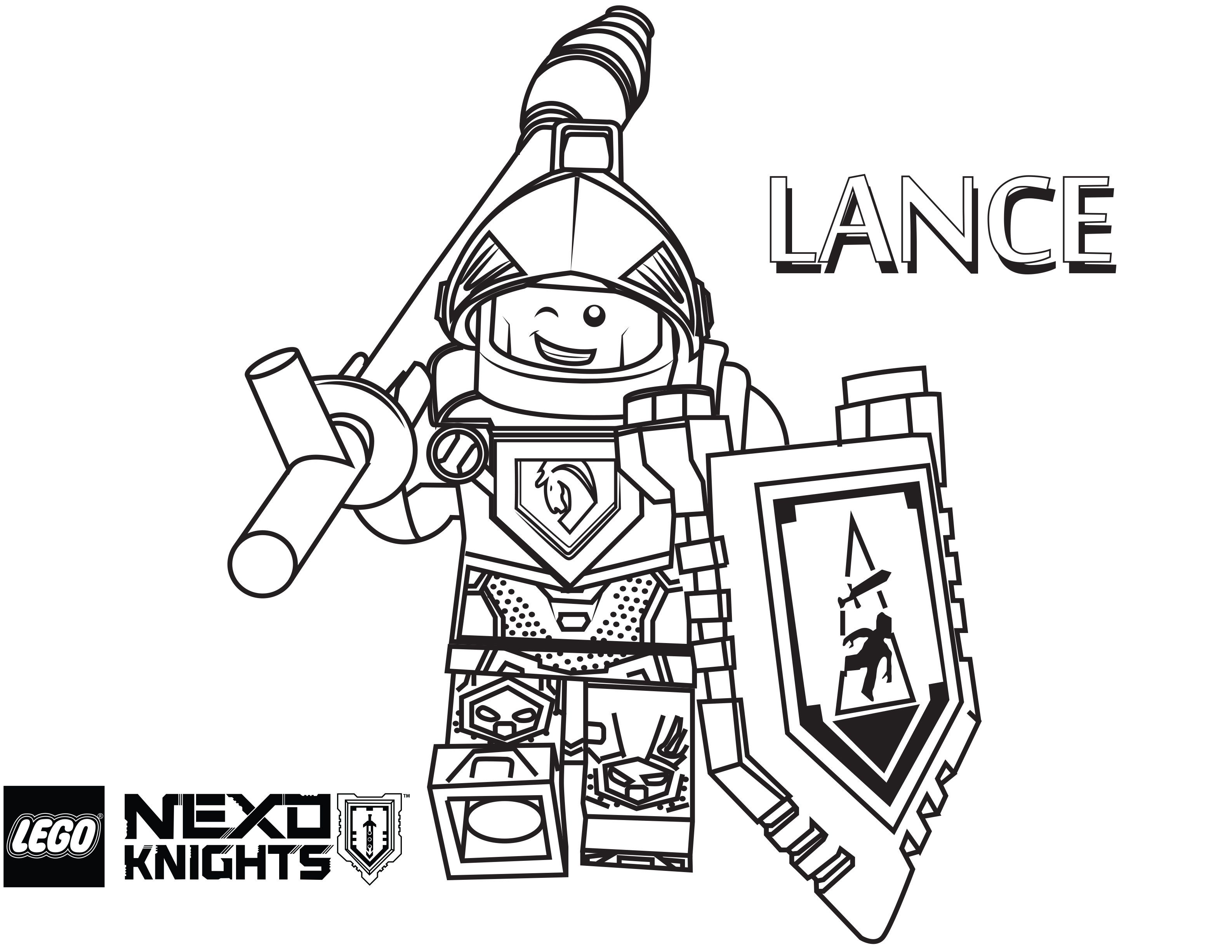 Lego Knight Coloring Pages - Coloring Home