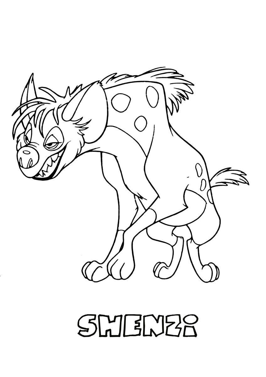 lion king zazu coloring pages - photo#17