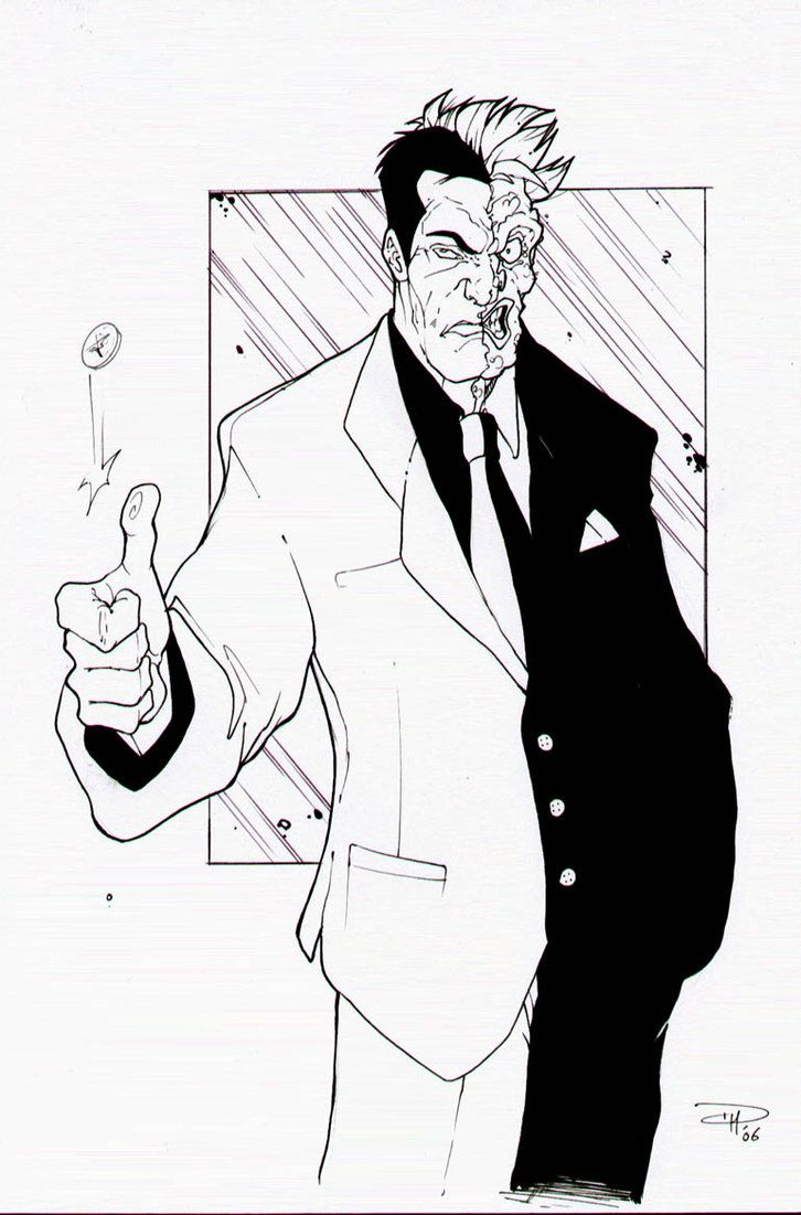 Adult Beauty Two Face Coloring Pages Gallery Images top batman two face coloring pages az twoface by denism79 on deviantart gallery images