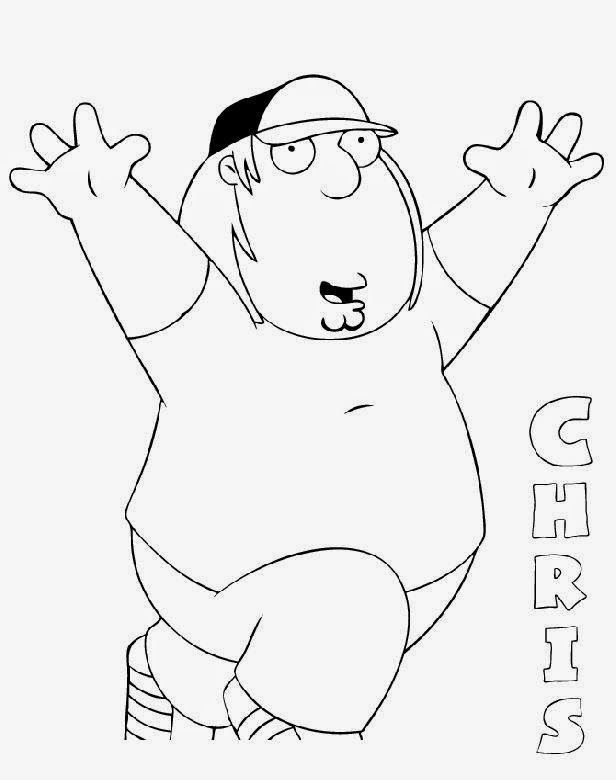 family guy coloring pages free coloring pages