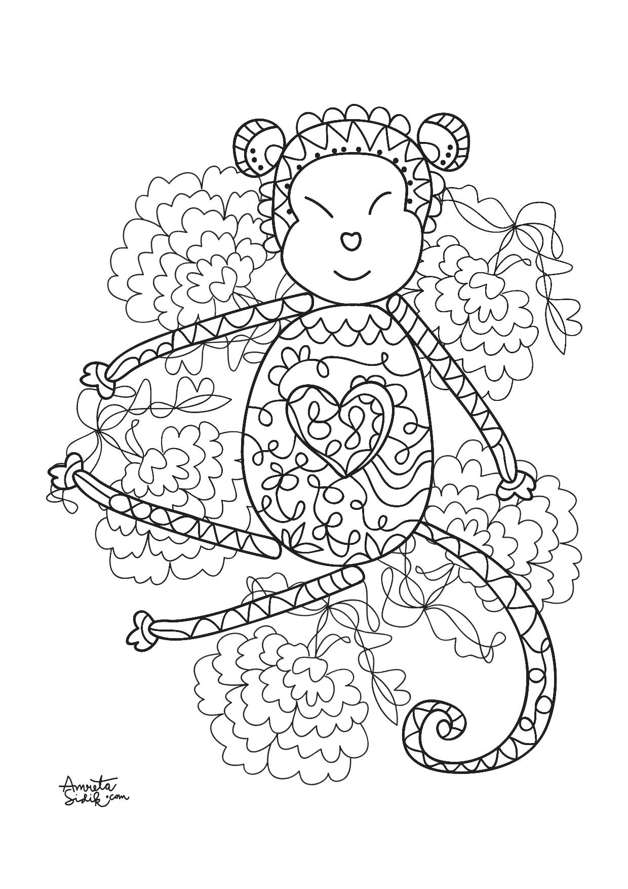 printables coloring pages for adults - photo#29