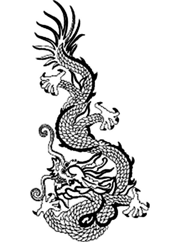 Printable Ancient China Coloring