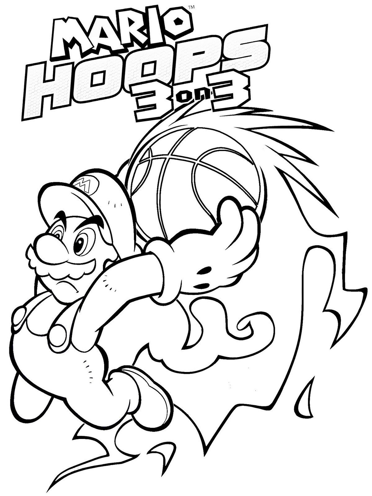 17 Pics Of Mario Bros Printable Coloring Pages - Super Mario Bros ...