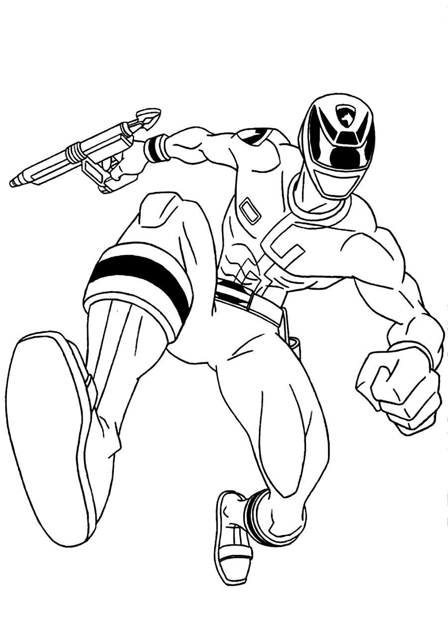 power ranger coloring pages printable - photo#30