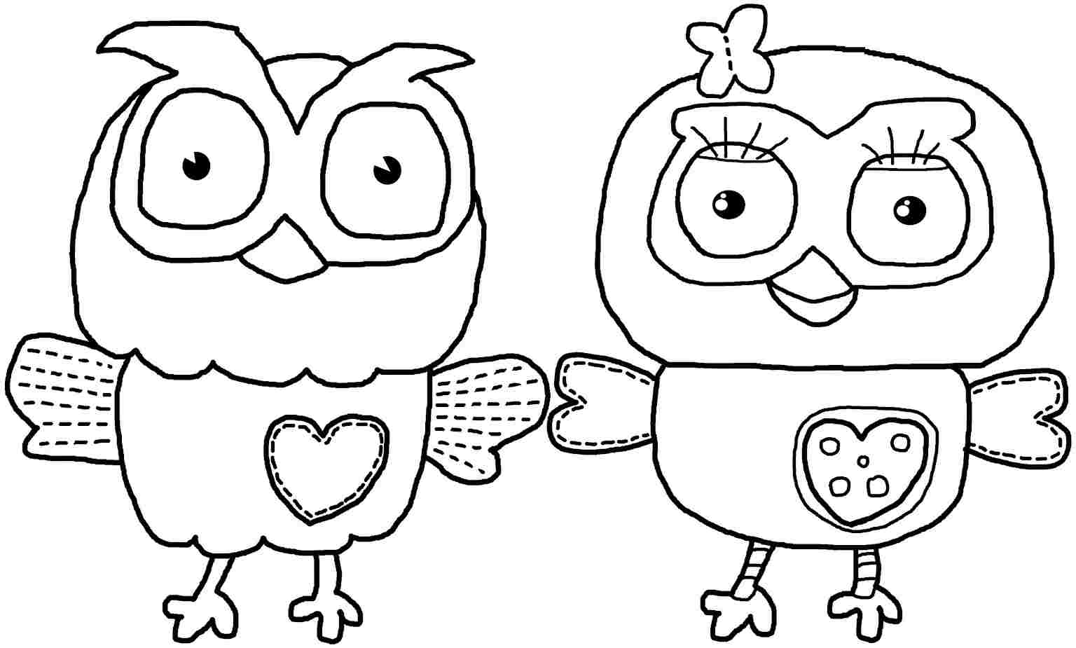 Coloring printables for preschool girl - Free Owl Coloring Pages Image 2 Voteforverde Com