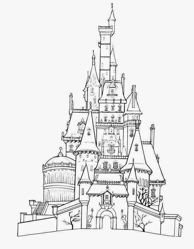Disney World Coloring Pages - Disney Coloring Pages
